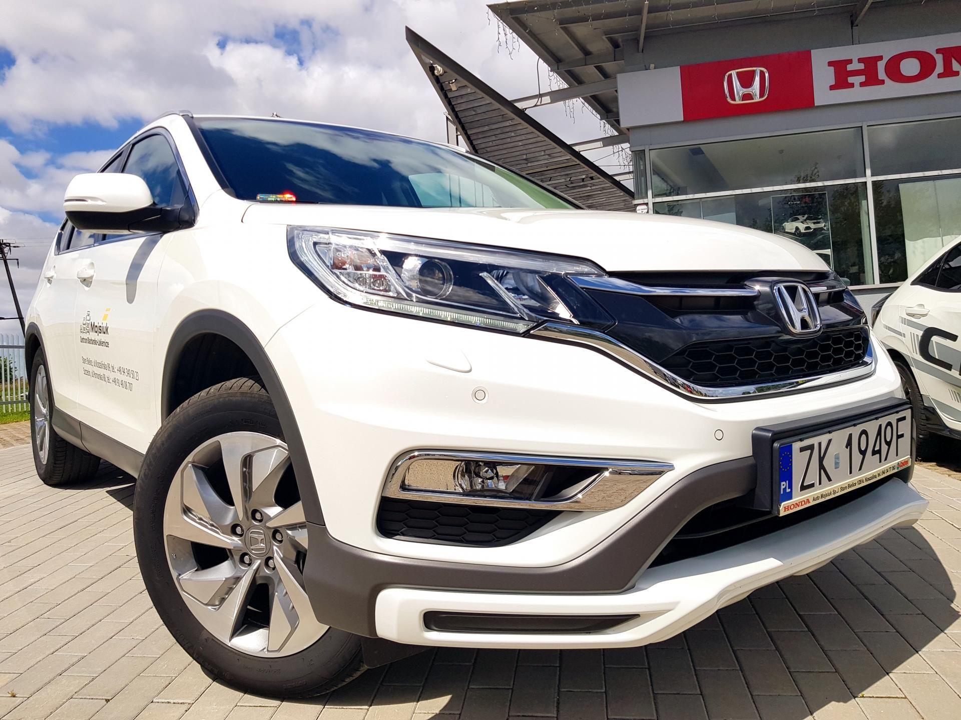 Honda CR-V 2.0 Lifestyle Plus AT 2018 Auto zastępcze Dealera, Na Gwarancji