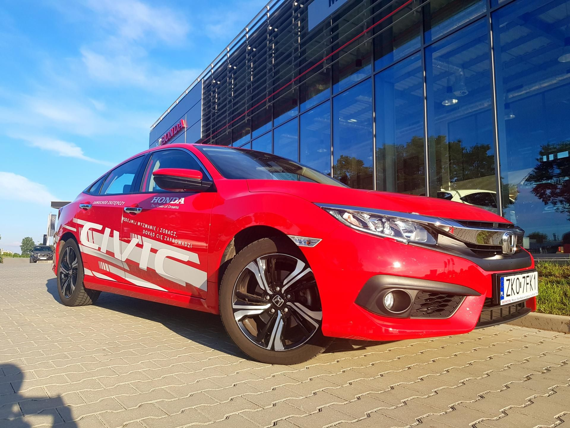 Honda Civic 1.5 Elegance  2019 Samochód zastępczy Dealera